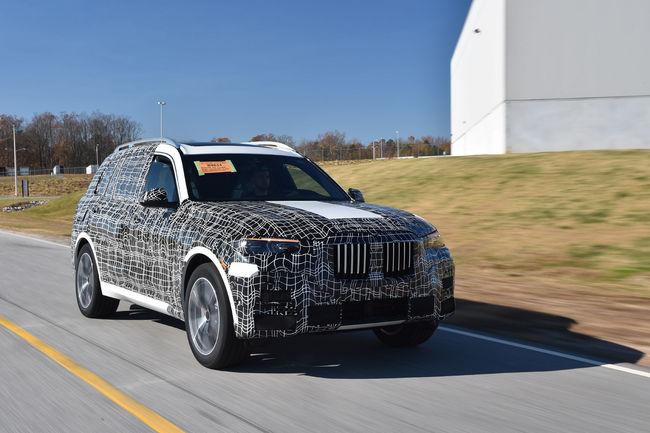 Les BMW X7 de pré-production en approche