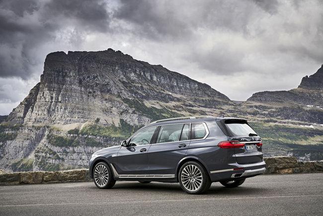 BMW lève le voile sur son nouveau SUV X7