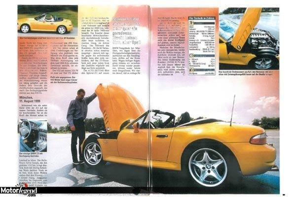 Bmw Z3 V12 Plus De D 233 Tails Actualit 233 Automobile Motorlegend