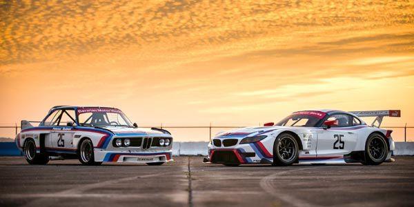 Couleurs historiques pour la BMW Z4 à Sebring