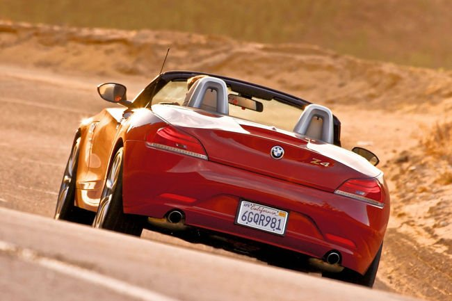Révérence discrète pour la BMW Z4