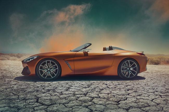 BMW Concept Z4, dédicace au plaisir de conduire
