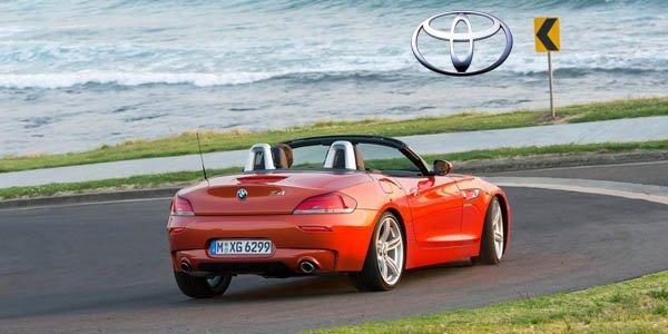 Le BMW Z4 basé sur la Toyota Supra ?