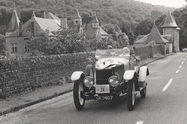 Une rare Vauxhall Prince Henry aux enchères Bonhams