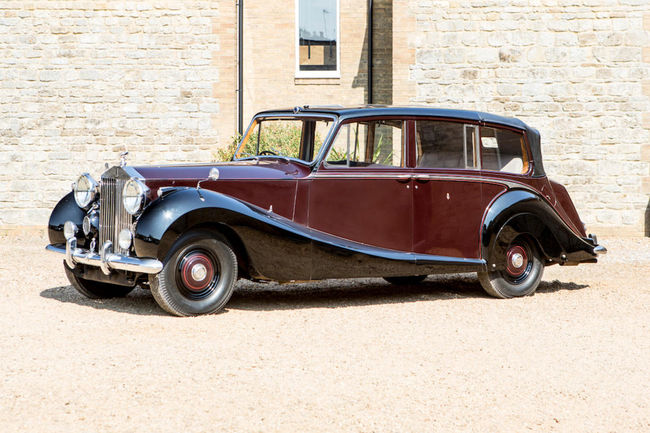 Bonhams : une collection Rolls-Royce en vente à Goodwood