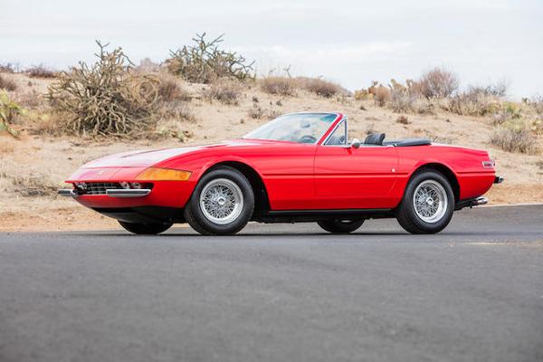 Bonhams : quatre Ferrari Pininfarina à Scottsdale