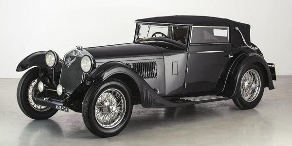 Bonhams : deux Alfa Romeo des années 30 au Grand Palais