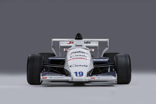 La Toleman-Hart TG184-2 d'Ayrton Senna aux enchères Bonhams