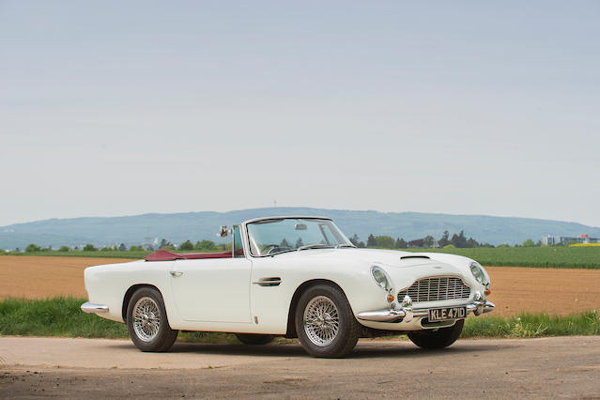 Bonhams : les résultats de la vente Aston Martin