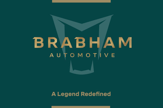 Le badge de la Brabham BT62 dévoilé
