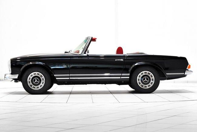 Brabus restaure aussi les Mercedes anciennes