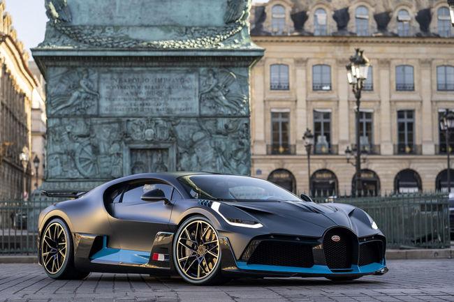Bugatti : une nouveauté attendue à Monterey