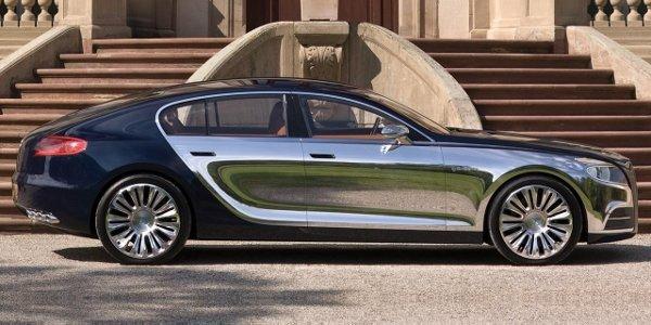 La Bugatti Galibier remaniée