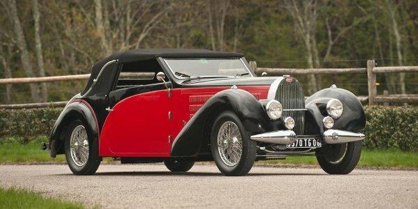 Enchères: Bugatti Type 57 Stelvio 1938