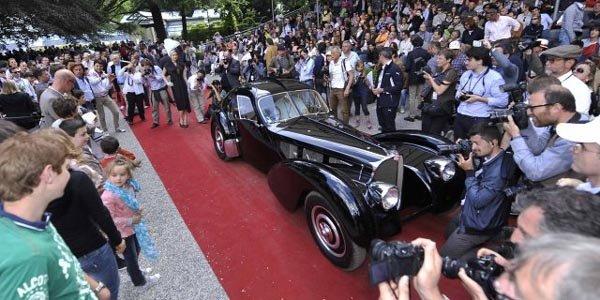 La Bugatti 57SC de Ralph Lauren primée