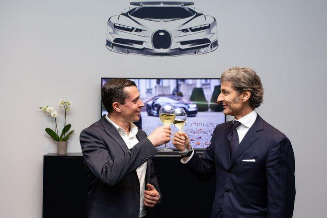 Champagne Carbon devient partenaire de Bugatti