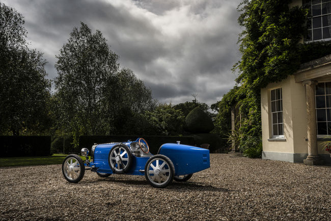 Bugatti Baby II : la Type 35 miniature