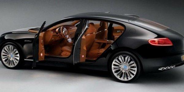 Bugatti : une berline pour 2014
