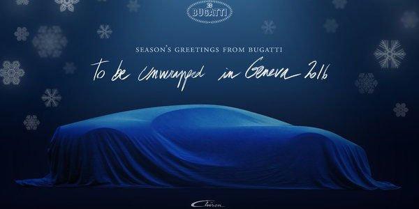 Teaser et vidéo pour la nouvelle Bugatti Chiron