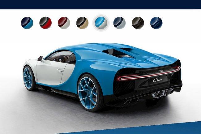 Configurez votre Bugatti Chiron
