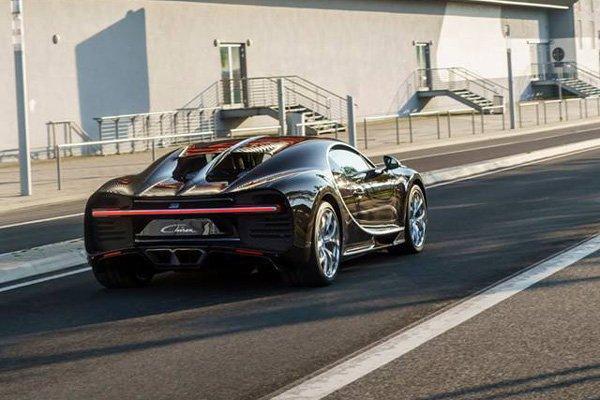 Bugatti Chiron : une tentative de record de vitesse en 2018 ?