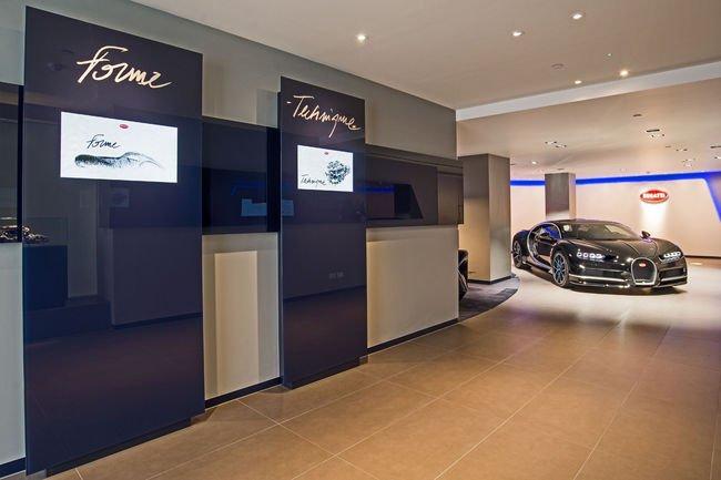 Bugatti réouvre son showroom londonien