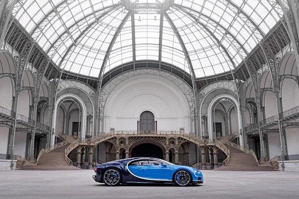 Les Bugatti Chiron et Vision GT à Pebble Beach