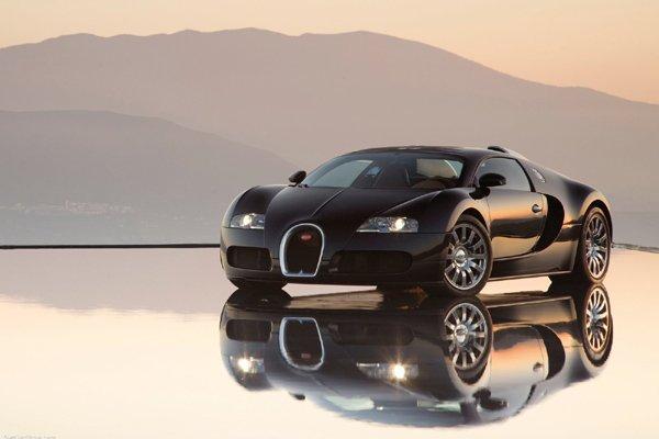 Les Bugatti Chiron et Vision GT réunies à Chantilly