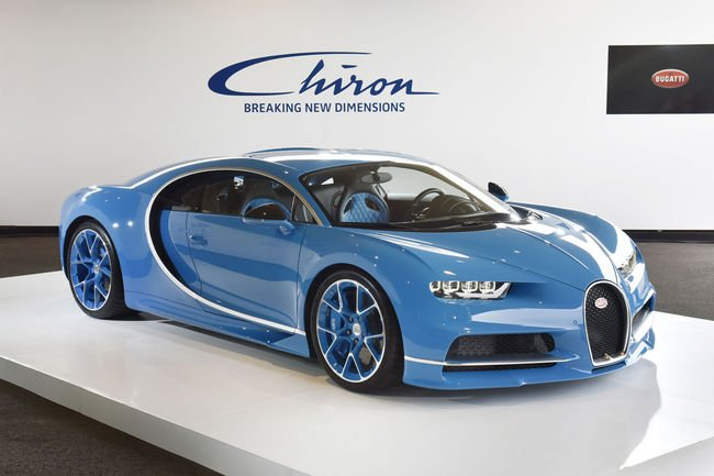 La Bugatti Chiron débarque au Japon