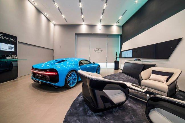 La Bugatti Chiron s'expose à Taïwan