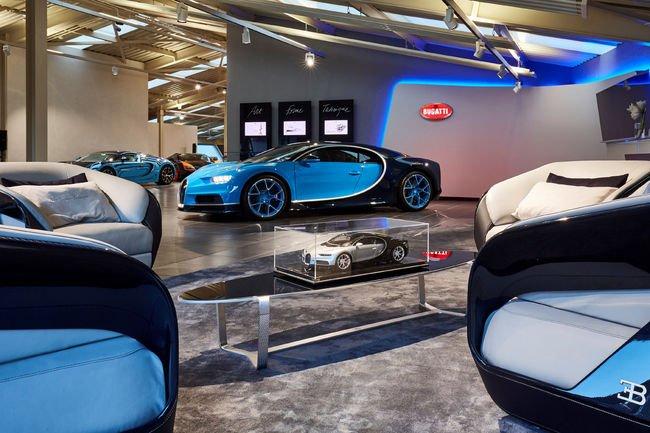 Nouveau Showroom Bugatti à Gstaad