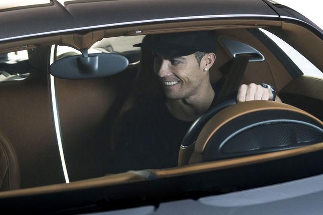 Cristiano Ronaldo a testé la Bugatti Chiron