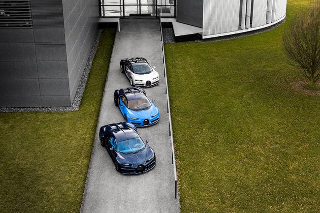 Bugatti Chiron : premières livraisons