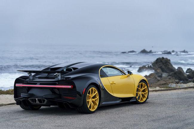 La première Bugatti Chiron livrée aux USA