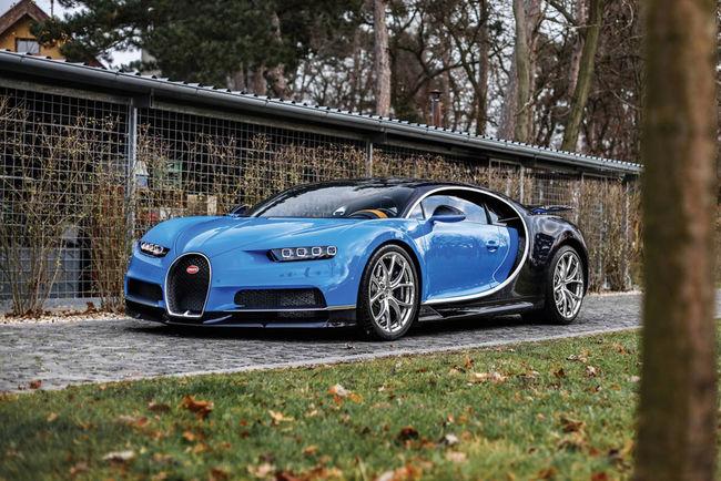 RM Sotheby's : une Bugatti Chiron pour la vente à Paris