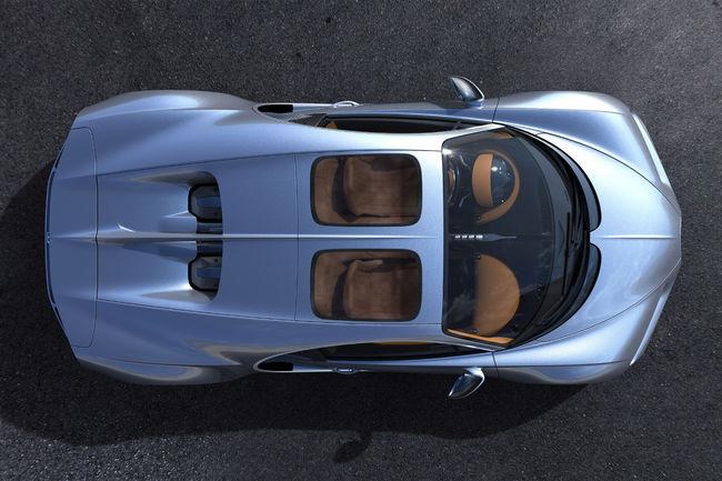 La Bugatti Chiron s'ouvre sur le ciel avec le Sky View