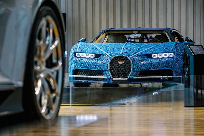 La Bugatti Chiron Lego Technic s'expose à Wolfsbourg