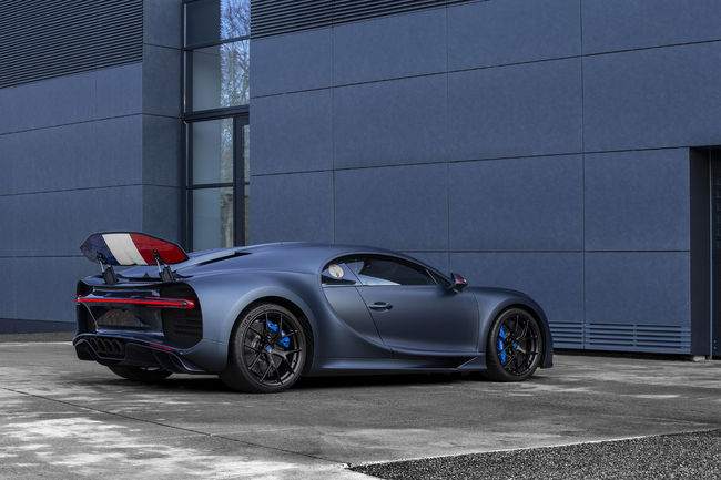 Édition limitée Bugatti Chiron Sport « 110 ans Bugatti »