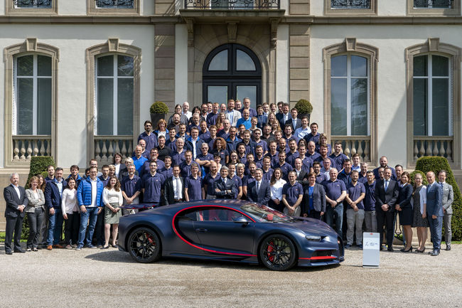 La Bugatti Chiron bientôt sold-out