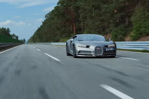 Vidéo : 423 km/h pour la Bugatti Chiron Sport