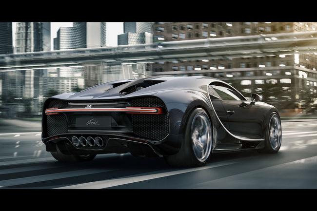 Bugatti présente l'édition limitée Chiron Noire