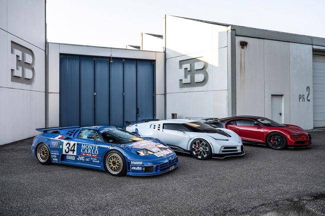 La Bugatti Centodieci dévoilée à Monterey