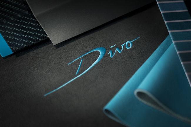 Bugatti Divo : poids limité et appuis maximum
