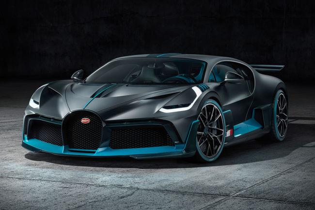 Bugatti dévoile la Divo à Monterey