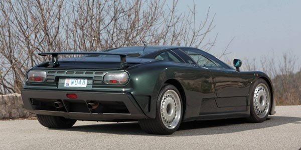 Une Bugatti EB110 GT aux enchères de Monaco