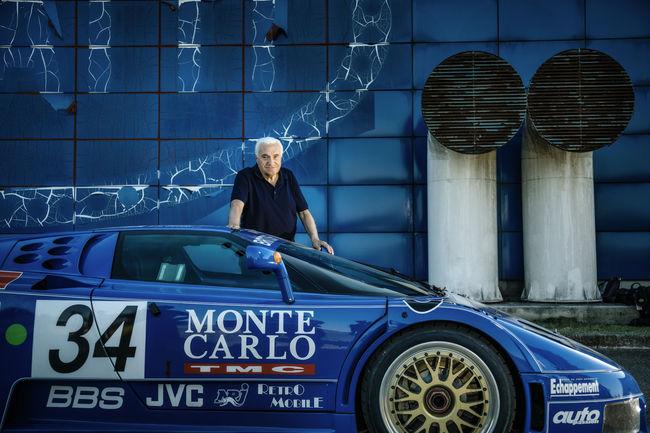 L'étonnante histoire des deux Bugatti EB110 de compétition