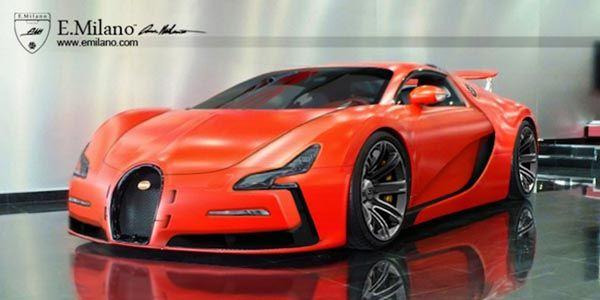 Evren Milano propose sa vision de la future Bugatti