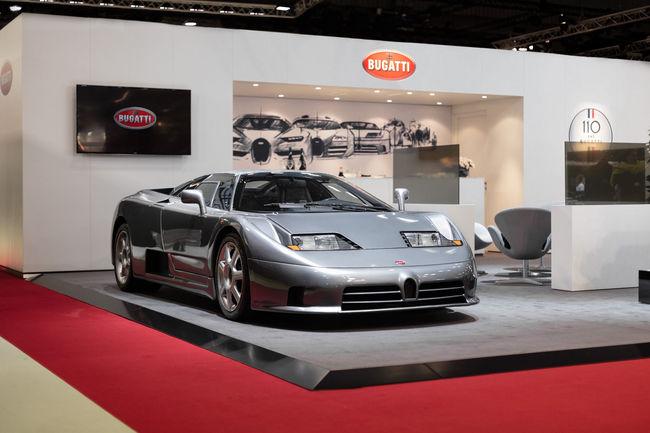 Bugatti fête ses 110 ans à Rétromobile