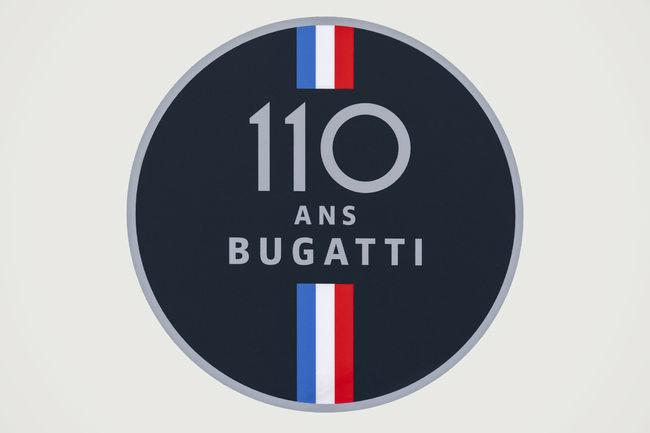 Bugatti lance les festivités de son 110ème anniversaire