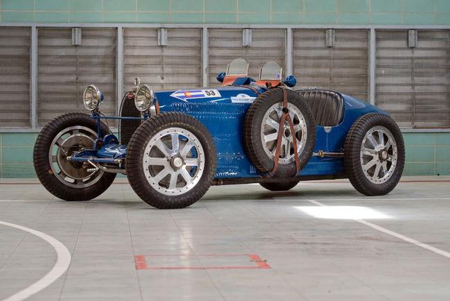Une Bugatti Type 35A ex-Louis Chiron aux enchères